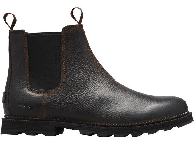 Sorel Madson Chelsea Waterproof Shoes Men tobacco/black